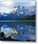 Patagonia Reflection Metal Print