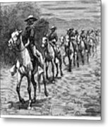 Remington: 10th Cavalry Metal Print