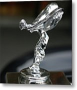 Rolls Royce Hood Ornament Metal Print