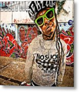 Street Phenomenon Lil Wayne Metal Print by The DigArtisT