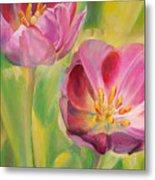 Tulipes Metal Print
