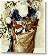 American Christmas Card Metal Print