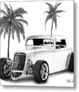 33 Ford Coupe Metal Print