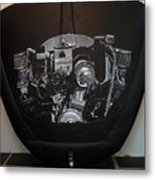 356 Porsche Engine On A Vw Cover Metal Print