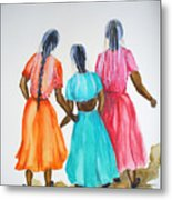 3bff Metal Print by Karin  Dawn Kelshall- Best