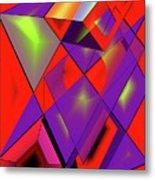 3d-cubes Metal Print
