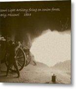 3rd Missouri Night Fire Metal Print