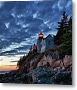 Bass Harbor Lighthouse Metal Print by John Greim