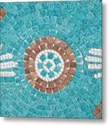 Hans Mosaic Metal Print