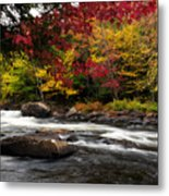Ontario Autumn Scenery Metal Print