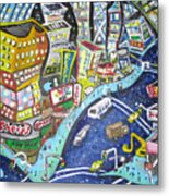 42nd And 8th Street Metal Print