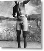 Jack Johnson (1878-1946) Metal Print