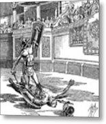 Roman Gladiators Metal Print