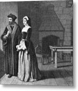 Sir Thomas More (1478-1535) Metal Print