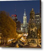 Philadelphia Skyline Metal Print by John Greim