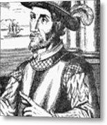 Juan Ponce De Leon Metal Print