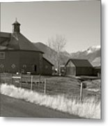 8-sided Barn Metal Print