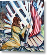 911 Cries For Jesus Metal Print