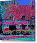 91f Dream Cottage Metal Print