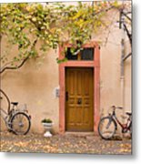 A Back Lane In Speyer Metal Print