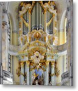 A Church Filled With Music - Church Of Our Lady Dresden Metal Print