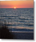 A Country Sunset Metal Print