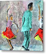 A Dance For Three Metal Print
