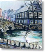 A Fine Day In Eire  Metal Print