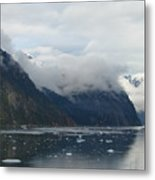 A Fjord In Alaska Metal Print