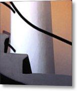 A Gaudi Staircase Metal Print