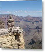 Grand Canyon Viewpoint Metal Print