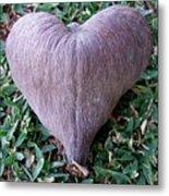 A Heart Never Dies Metal Print