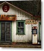A Little Bit Of Luck Metal Print