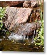 A Little Waterfall Metal Print