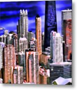 A Look At Chicago Metal Print