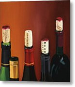 A Maryland Wine Party Metal Print by Brien Cole