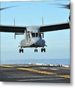 A Mv-22 Osprey Aircraft Prepares Metal Print