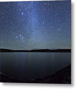 A Panoramic View Of The Milky Way Metal Print
