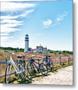 A Ride On The Cape Metal Print
