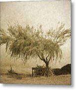 A Sky The Colour Of Memory Metal Print