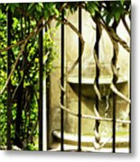 A Small Fountain Metal Print