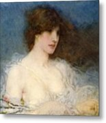 A Spring Idyll Metal Print by George Henry Boughton