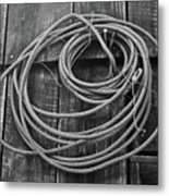 A Study Of Wire In Gray Metal Print