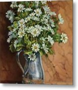 A Tribute To Lupetti Metal Print by Carolyn Sterling