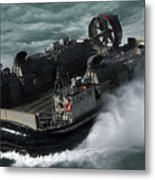 A U.s. Navy Landing Craft Air Cushion Metal Print