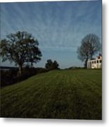 A View Of Mount Vernon, The Home Metal Print