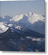 A View Of The Mountains Metal Print by Taylor S. Kennedy