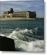 A View Of The Seaside Convention Center Metal Print by Ira Block