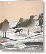 A Winter's Day Passing Bye Metal Print
