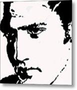 A Young Elvis Metal Print
